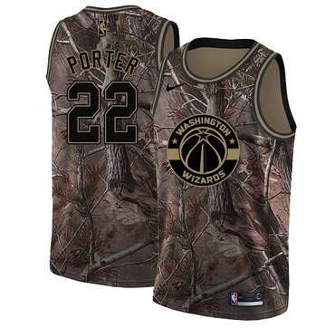 Nike Wizards #22 Otto Porter Camo NBA Swingman Realtree Collection Jersey