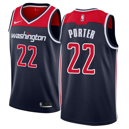 Nike Wizards #22 Otto Porter Navy Blue NBA Swingman Statement Edition Jersey