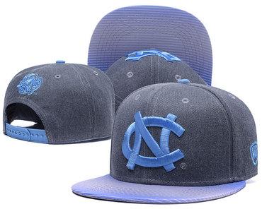 North Carolina Tar Heels Team Logo Gray Ajustable Hat GS