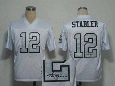 sports shoes 00b5f c212a Oakland Raiders #16 Jim Plunkett Black Throwback Jersey ...
