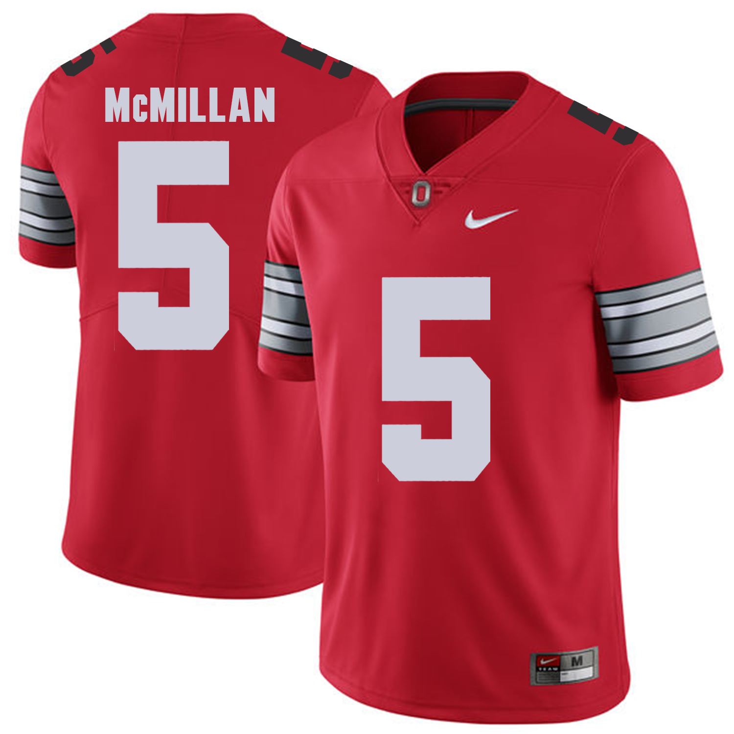 Ohio State Buckeyes 5 Raekwon McMillan Red 2018 Spring Game College Football Limited Jersey