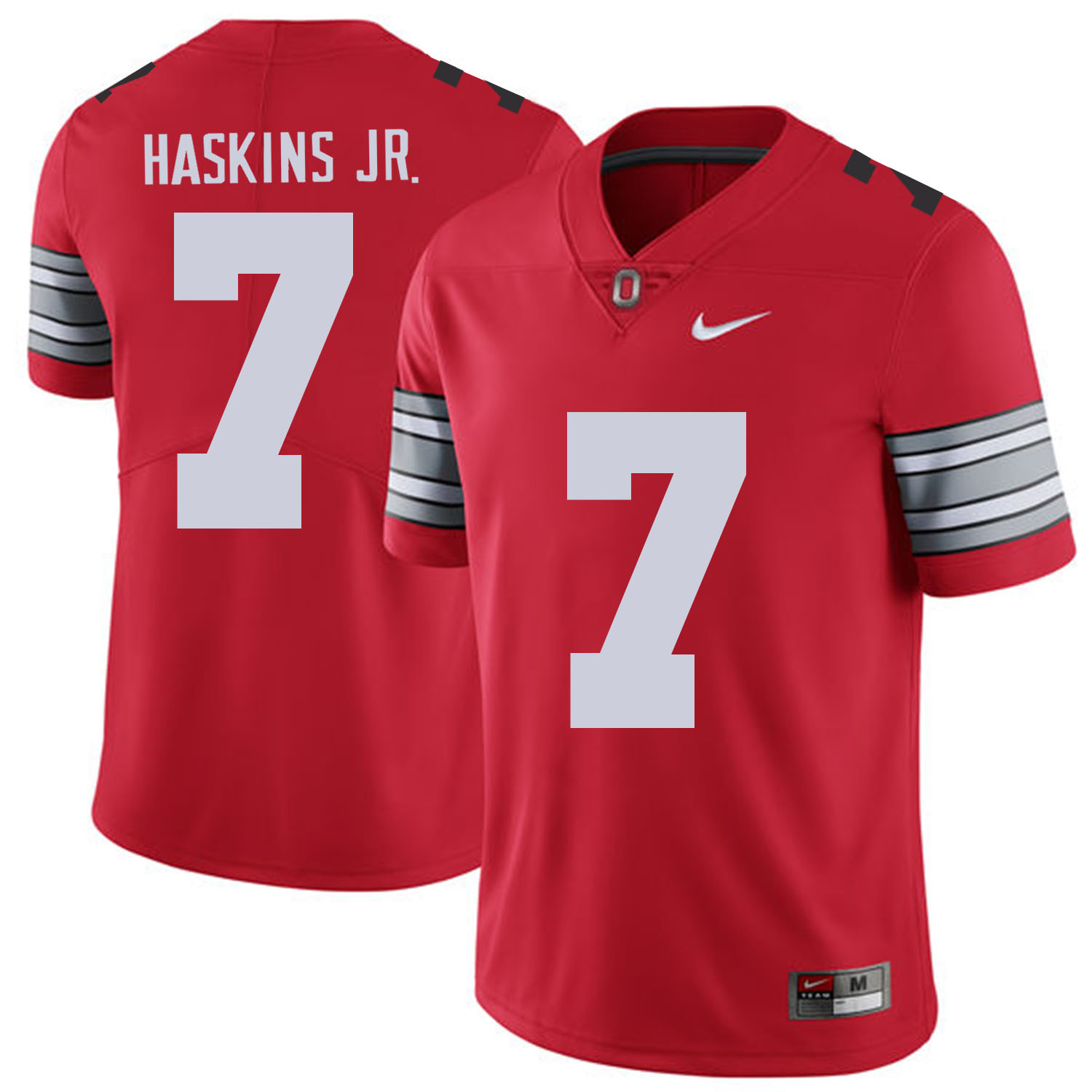 Ohio State Buckeyes 7 Dwayne Haskins Jr Red 2018 Spring Game College Football Limited Jersey