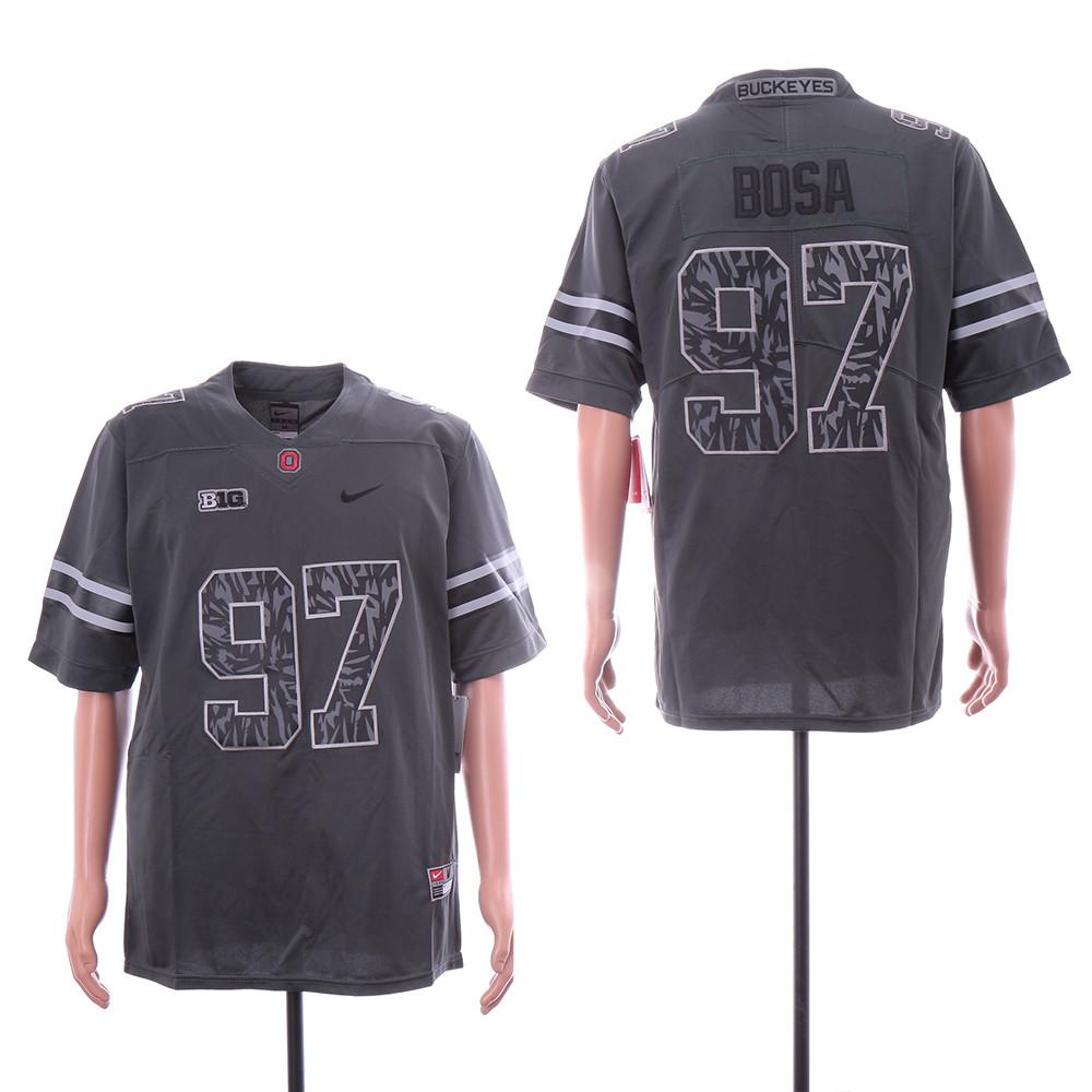 Ohio State Buckeyes 97 Joey Bosa Black Nike College Football Jersey