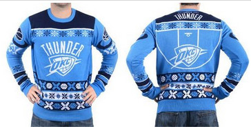 Oklahoma City Thunder Men's NBA Ugly Sweater