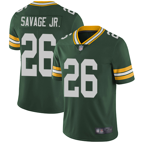 Packers #26 Darnell Savage Jr. Green Team Color Men's Stitched Football Vapor Untouchable Limited Jersey