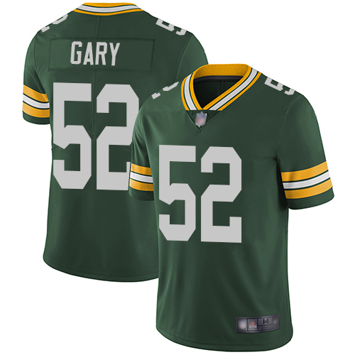 Packers #52 Rashan Gary Green Team Color Men's Stitched Football Vapor Untouchable Limited Jersey