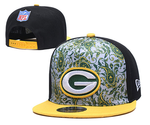 Packers Team Logo Black Fashion Adjustable Hat LH