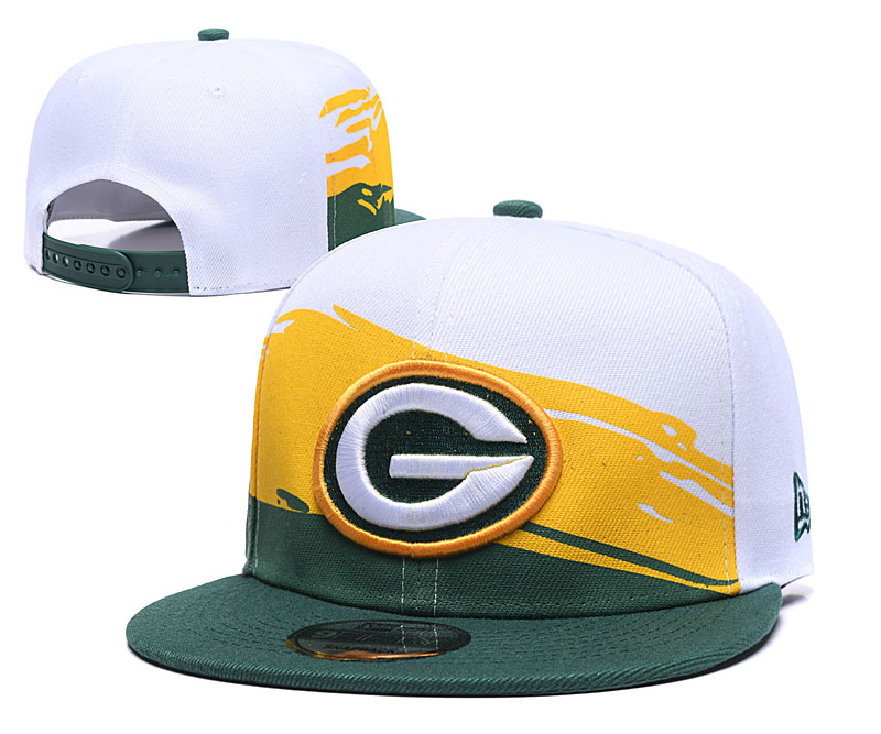 Packers Team Logo White Green Adjustable Hat GS