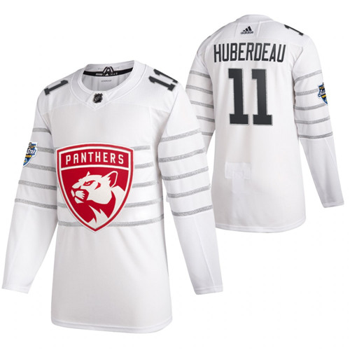 Panthers 11 Jonathan Huberdeau White 2020 NHL All-Star Game Adidas Jersey