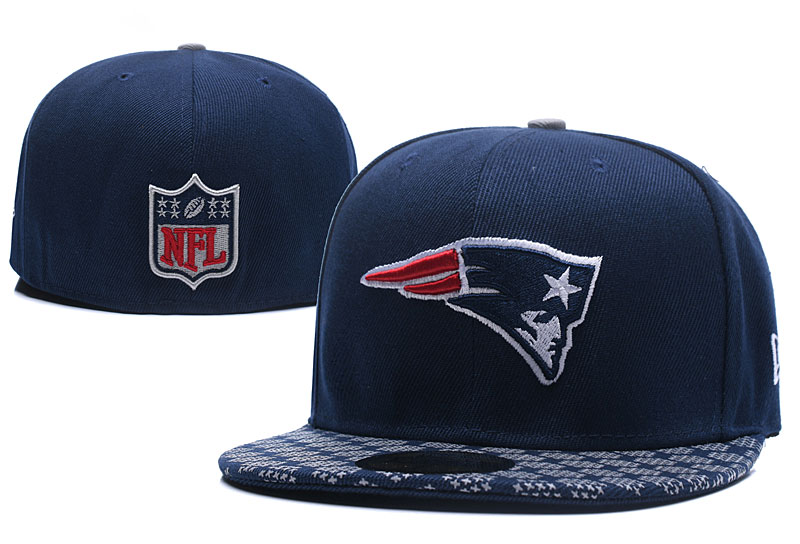 Patriots Team Logo Navy Fitted Hat LX