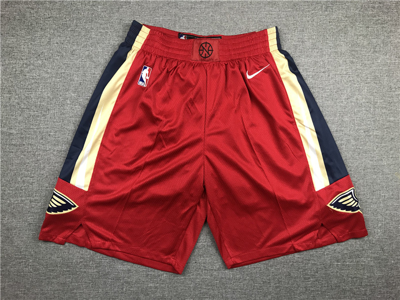 Pelicans Red Nike Shorts