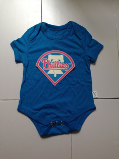 Philadelphia Phillies MLB Kids Newborn&Infant Gear Light Blue