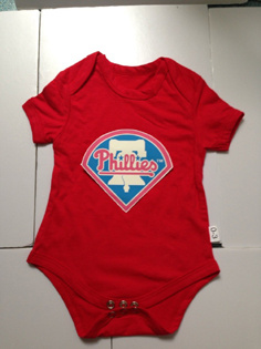 Philadelphia Phillies MLB Kids Newborn&Infant Gear Red