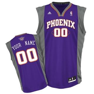Phoenix Suns Youth Custom purple Jersey