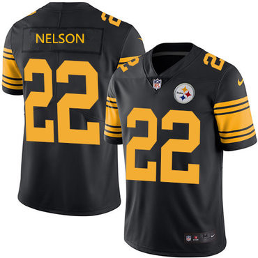 Pittsburgh Steelers #22 Steven Nelson Rush Jersey