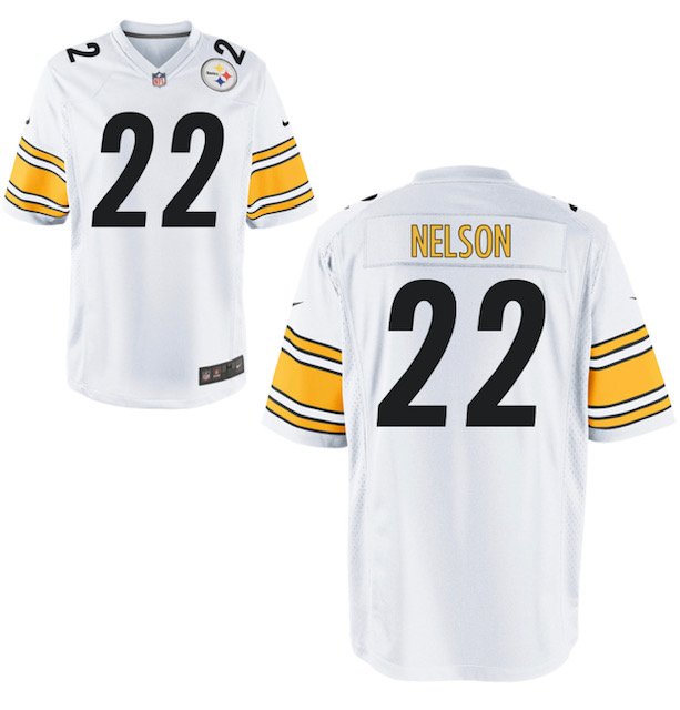 Pittsburgh Steelers #22 Steven Nelson White Vapor limited Jersey