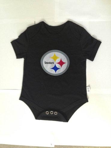Pittsburgh Steelers Infant Creeper Set - Black