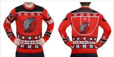 Portland Trail Blazers Men''s NBA Ugly Sweater