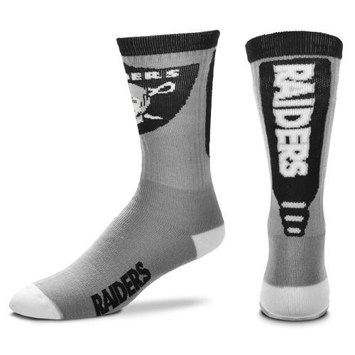 Raiders Team Logo NFL Socks