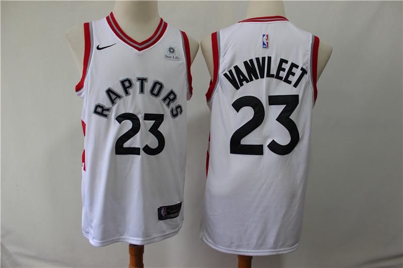 Raptors 23 Fred Vanvleet White Nike Swingman Jersey