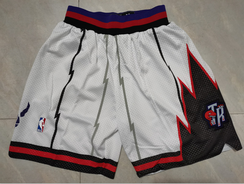 Raptors White Nike Mesh Shorts