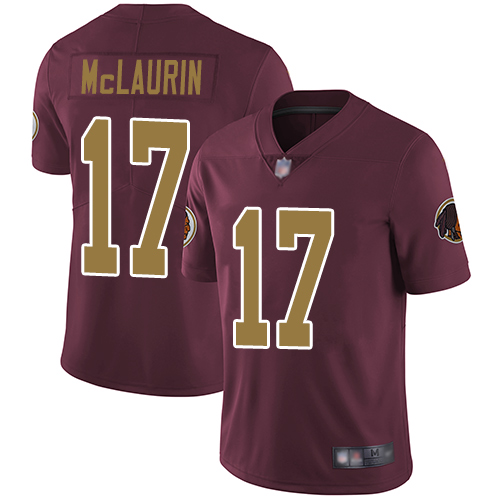 Redskins #17 Terry McLaurin Burgundy Red Alternate Men's Stitched Football Vapor Untouchable Limited Jersey
