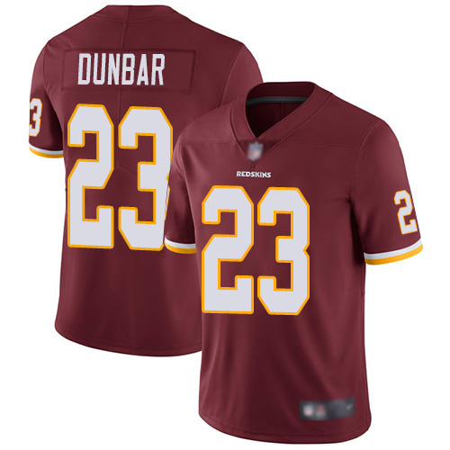 Redskins #23 Quinton Dunbar Burgundy Red Team Color Men's Stitched Football Vapor Untouchable Limited Jersey