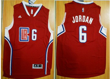 32f25155b78 Revolution 30 Los Angeles Clippers  6 DeAndre Jordan Red Stitched ...