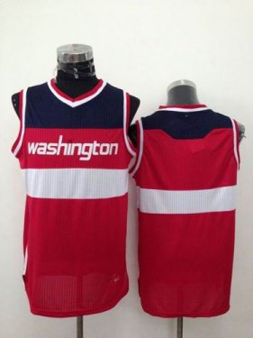 Revolution 30 Washington Wizards Blank Red NBA Jersey