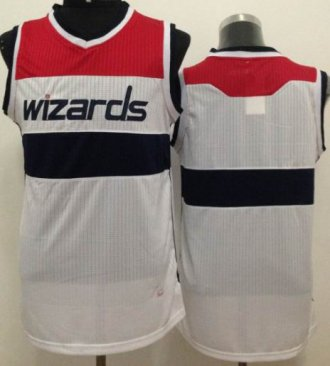 Revolution 30 Washington Wizards Blank White Stitched NBA Jersey