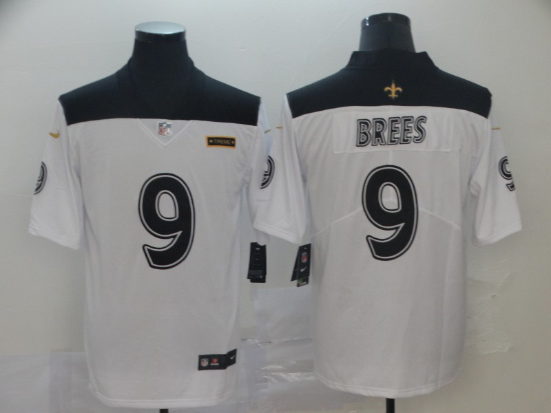 Saints 9 Drew Brees White City Edition Vapor Untouchable Limited Jersey