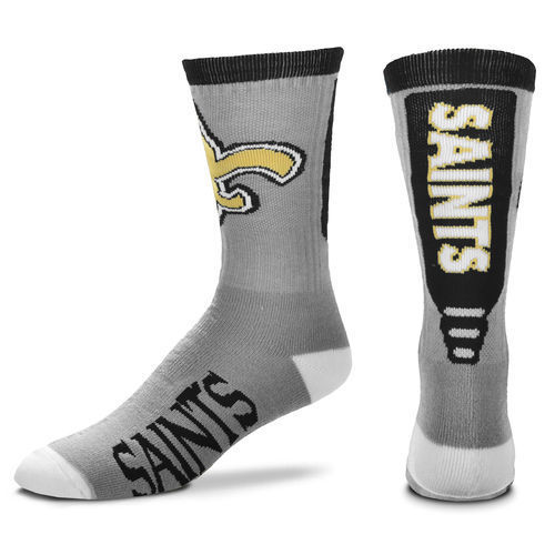 Saints Team Logo NFL Socks