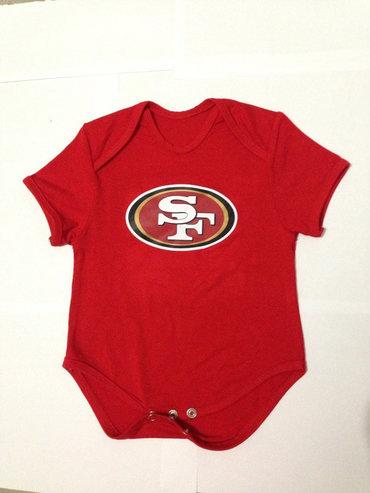 San Francisco 49ers Infant Creeper Set - Scarlet