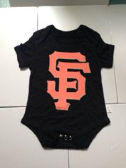 San Francisco Giants MLB Kids Newborn&Infant Gear Black