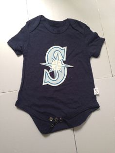Seattle Mariners MLB Kids Newborn&Infant Gear black