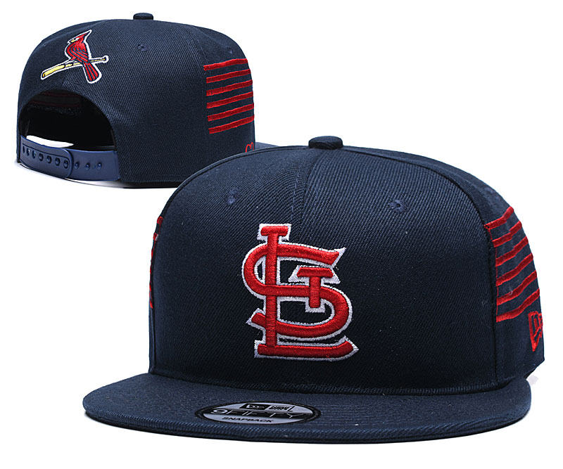 St. Louis Cardinals Team Logo Navy Adjustable Hat YD