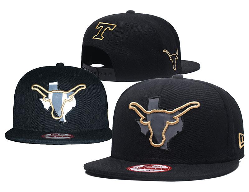 Tennessee Volunteers Team Logo Black Adjustable Hat GS