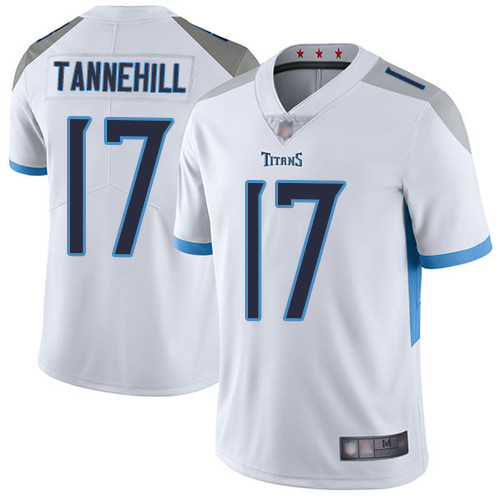 Titans #17 Ryan Tannehil White Youth Stitched Football Vapor Untouchable Limited Jersey