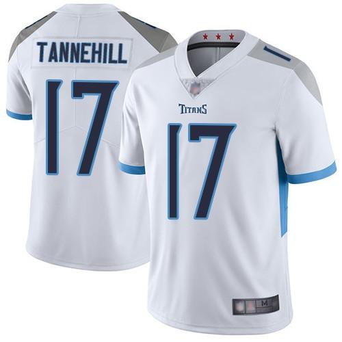 Titans 17 Ryan Tannehill White Vapor Untouchable Limited Jersey
