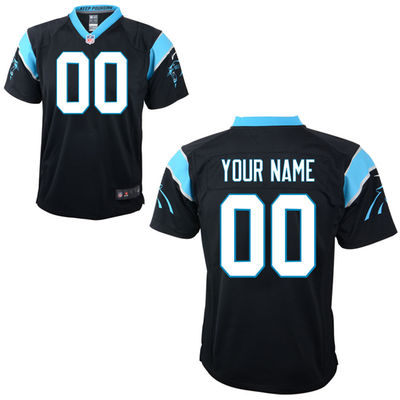 Toddlers Nike Toddler Carolina Panthers Customized Team Color Game Jersey