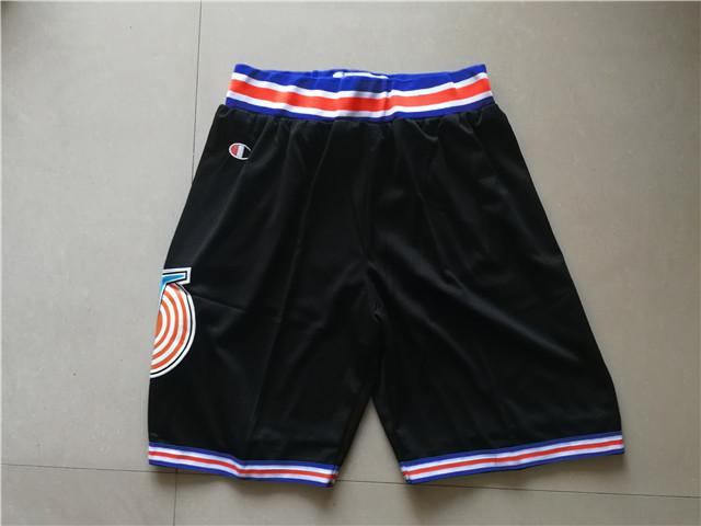 Tune Squad Black Champion Shorts