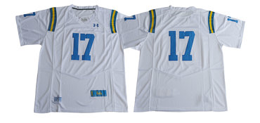 UCLA Bruins 17 Brett Hundley White College Football Jersey