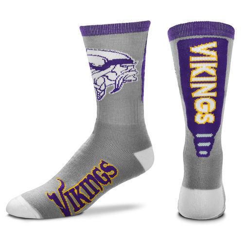 Vikings Team Logo NFL Socks
