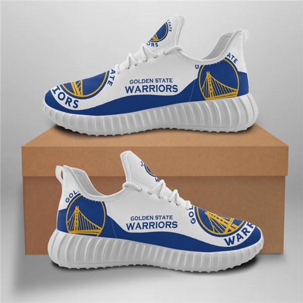 Warriors Mesh Knit Sneakers