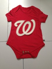 Washington Nationals MLB Kids Newborn&Infant Gear Red