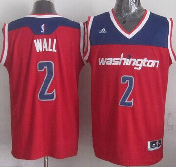 Washington Wizards #2 John Wall Red 2012 Revolution 30 Stitched NBA Jersey