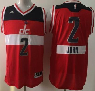 Washington Wizards #2 John Wall Red 2014-15 Christmas Day Stitched NBA Jersey