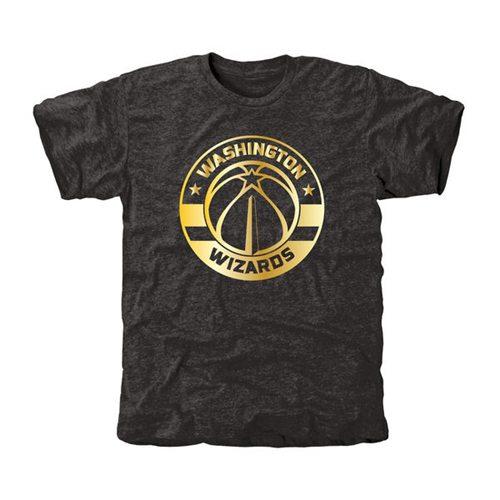 Washington Wizards Gold Collection Tri-Blend T-Shirt Black