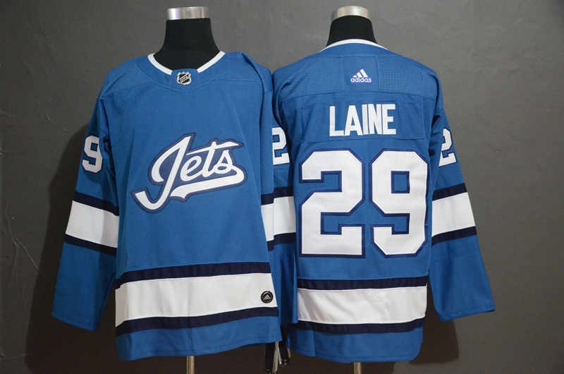 Winnipeg Jets 29 Patrik Laine Blue Alternate Adidas Jersey