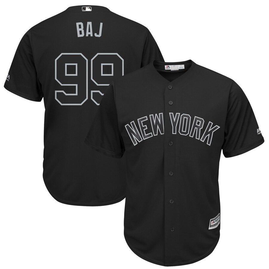 Yankees 99 Aaron Judge BAJ Black 2019 Players' Weekend Player Jersey